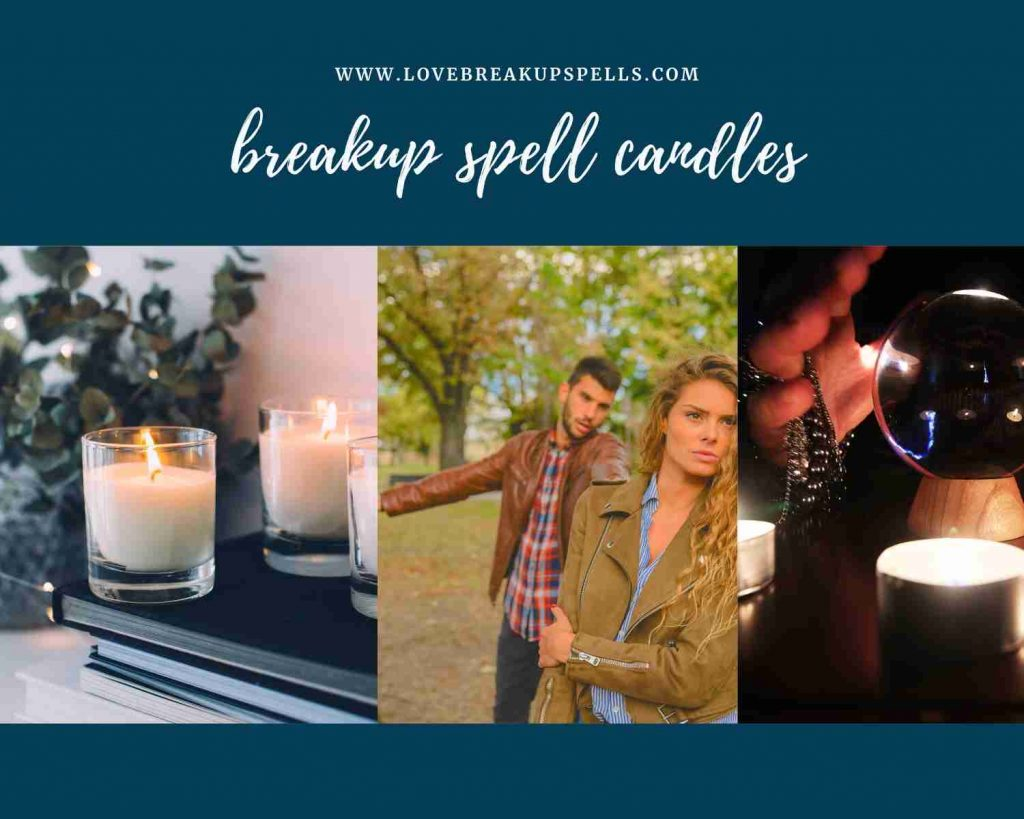 breakup spell candles