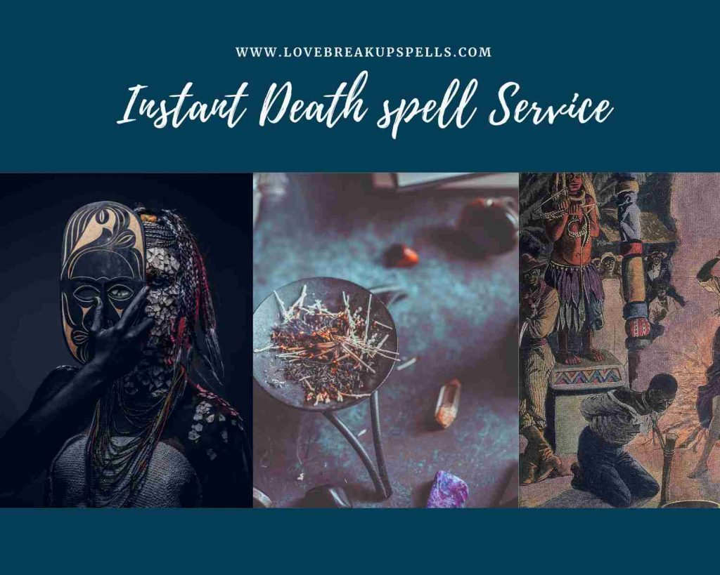 instant death spell service